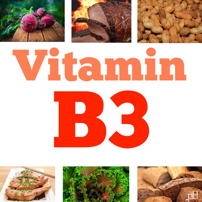 Vitamin B3 có tác dụng hỗ trợ tiêu háo khỏe mạnh, giảm đau đầu và chống buồn nôn